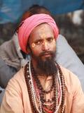 圣洁印度人sadhu 免版税库存图片