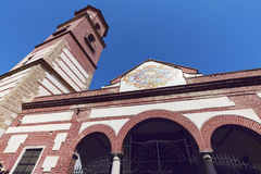 圣洁受难者的教会在马拉加 库存图片