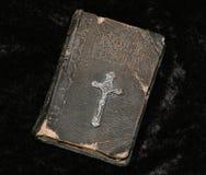 圣洁古色古香的圣经 库存照片