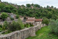 圣洁四十个受难者教会是中世纪教会在老镇Veliko Tarnovo 免版税库存图片
