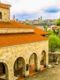 圣洁四十个受难者教会,大特尔诺沃,保加利亚 免版税库存图片