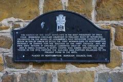 圣洁坟墓在北安普顿 库存图片