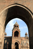 圣洁大教堂的echmiadzin 免版税图库摄影