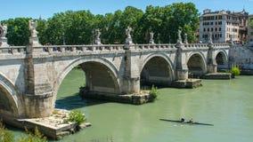 圣洁天使堡垒和圣洁天使桥梁 免版税库存图片