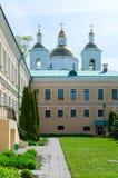 圣洁突然显现修道院,波洛茨克,白俄罗斯 图库摄影