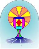 圣洁首先的comunion 免版税库存图片