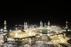 圣洁kaaba makkah清真寺 库存图片