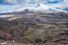 圣海伦山在华盛顿美国 免版税图库摄影