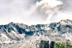 圣海伦山在华盛顿 库存照片