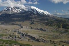 圣海伦山火山口 库存图片