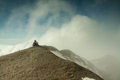 圣海伦山的上面 免版税图库摄影