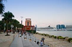 圣淘沙江边,新加坡 库存图片