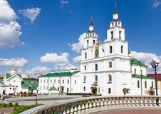 圣灵大教堂在米斯克,白俄罗斯 免版税图库摄影