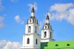 圣灵大教堂在米斯克 库存照片