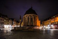 圣灵教会在海得尔堡 库存照片