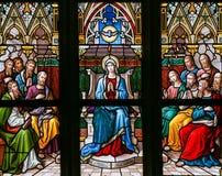 圣灵的下降在Pentecost的 免版税库存照片