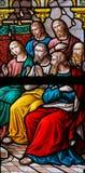 圣灵的下降在Pentecost的 库存图片