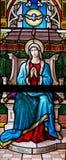 圣灵的下降在Pentecost的 免版税库存图片