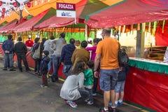 圣热纳罗宴餐  免版税库存图片