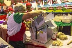 圣热纳罗宴餐  免版税库存照片