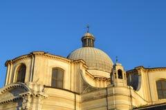 圣热雷米亚教会的细节在威尼斯 免版税库存图片