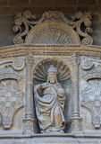 圣父雕象哈罗, La圣托马斯教会的  免版税库存图片