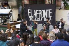 圣特尔莫邻里,布宜诺斯艾利斯,阿根廷 免版税图库摄影