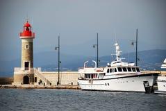 圣特罗佩港口 库存图片