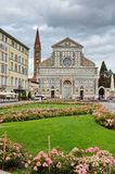 圣玛丽亚中篇小说在佛罗伦萨,托斯卡纳,意大利 免版税图库摄影