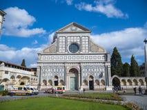 圣玛丽亚中篇小说教会在佛罗伦萨-佛罗伦萨/意大利- 2017年9月12日 免版税库存照片
