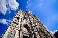 圣玛丽亚中篇小说大教堂外部  免版税图库摄影