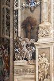 圣玛丽亚中篇小说大教堂, Floren内部的片段  图库摄影