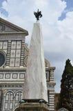 圣玛丽亚中篇小说广场  免版税库存照片