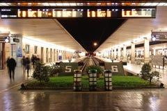 圣玛丽亚中篇小说火车站 免版税图库摄影