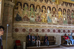 圣玛丽亚中篇小说,佛罗伦萨,意大利大教堂 图库摄影