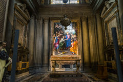圣玛丽亚中篇小说,佛罗伦萨,意大利大教堂 免版税图库摄影