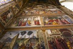 圣玛丽亚中篇小说,佛罗伦萨,意大利大教堂 库存图片
