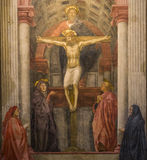 圣玛丽亚中篇小说,佛罗伦萨,意大利大教堂 库存照片
