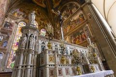 圣玛丽亚中篇小说,佛罗伦萨,意大利大教堂 免版税库存图片