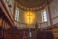圣玛丽亚十字架 免版税库存图片