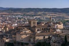 圣玛丽亚和圣胡利安de昆卡省,西班牙大教堂  库存图片