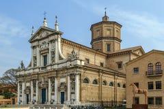圣玛丽亚在波尔图,拉韦纳,意大利 库存图片