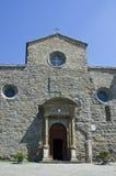 圣玛丽亚大教堂在科尔托纳,意大利 库存照片