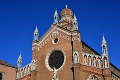 圣玛丽亚小山谷` Orto在威尼斯 免版税库存照片