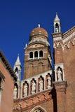 圣玛丽亚小山谷` Orto在威尼斯 免版税库存图片
