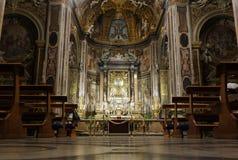 圣玛丽亚小山谷Orto,罗马 库存图片