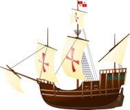 圣玛丽亚帆船 库存照片