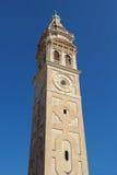圣玛丽亚福摩萨教会钟楼 库存照片