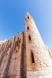 圣玛丽亚马格达莱纳修道院在诺韦尔达,西班牙 免版税库存图片