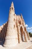 圣玛丽亚马格达莱纳修道院在诺韦尔达,西班牙 图库摄影